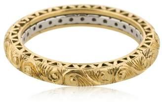 Secret Message 18kt Gold & Diamonds Ring
