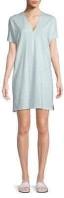 Saks Fifth Avenue Cotton T-Shirt Dress