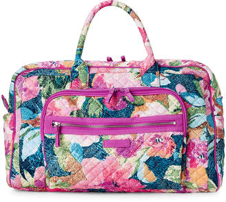Vera Bradley Superbloom Iconic Compact Weekender Travel Bag