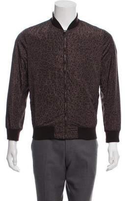 Gucci Printed Zip Bomber Jacket