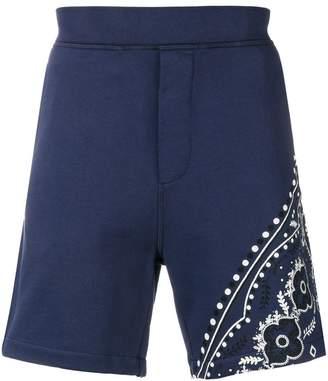 DSQUARED2 Paisley print shorts