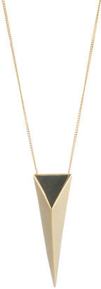 Alexis Bittar Large Pyramid Pendant Necklace