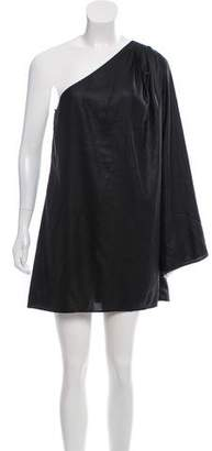 Elizabeth and James Asymmetrical Mini Dress