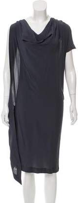 Vionnet Silk Sleeveless Dress