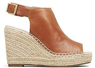 659f97d5c8e6 Kenneth Cole New York Olivia Leather Espadrille Wedge