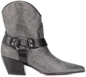 Argento Deimille pointed toe boots