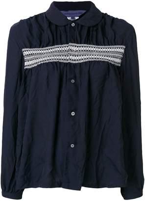 Comme des Garcons casual loose fit blouse