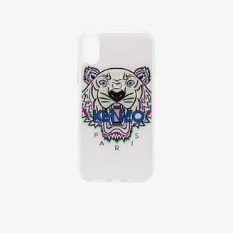 white Tiger iPhone X case