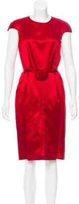 Valentino Silk Belted Dress w/ Tags