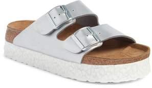Birkenstock 'Arizona - Birko-Flor' Platform Sandal