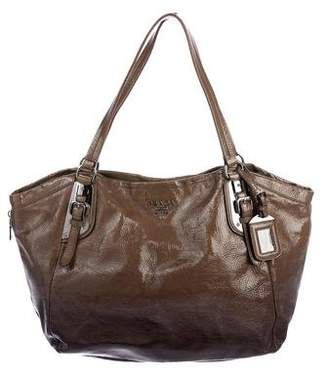 Prada Vernice Sfumato Shoulder Bag