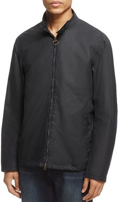 Barbour Brompton Waxed Cotton Jacket $349 thestylecure.com