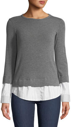 Bailey 44 Elizabeth III Crewneck Combo Sweater