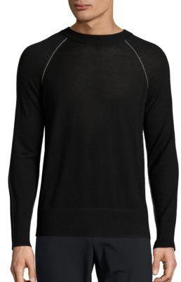 Theory Tremell Castellos Merino Wool Sweater