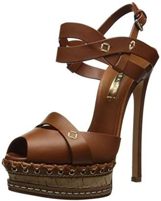 Casadei Women's Cork PF Dress Sandal