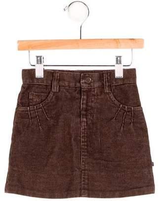 Little Marc Jacobs Girls' Corduroy Mini Skirt