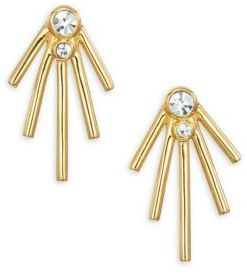 Jules Smith Jagger Jewel Stud Earrings $50 thestylecure.com