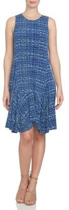 Women's Cece Handkerchief Hem Knit Shift Dress $119 thestylecure.com