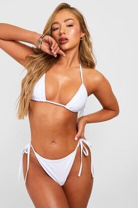 boohoo Triangle Bikini Set