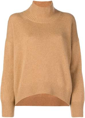 Ermanno Scervino slouched turtle-neck sweater