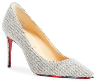 53851b079 Christian Louboutin Kate Flanelle Pointy Toe Pump