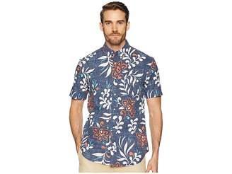 Reyn Spooner Perennial Pareau Tailored Fit Aloha Shirt