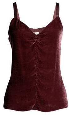Rebecca Taylor Velvet Camisole Top