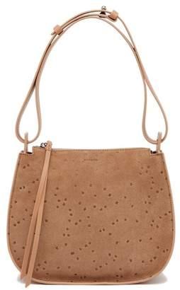 AllSaints Mini Echo Star Embossed Convertible Shoulder Bag