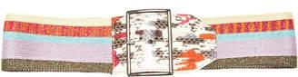 Missoni Metallic Knit Belt