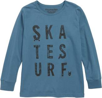 Munster Skate Surf T-Shirt