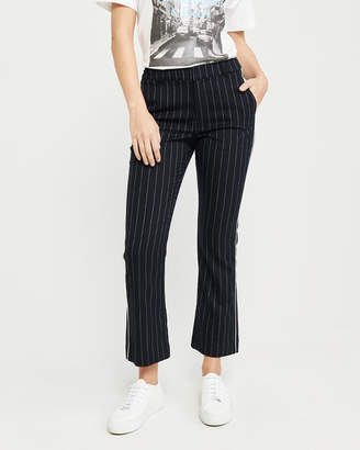 Abercrombie & Fitch Cropped Ankle Flare Menswear Pants