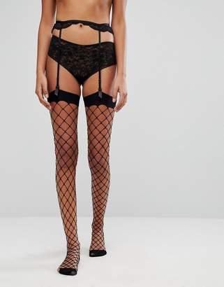 Asos Oversized Fishnet Stockings