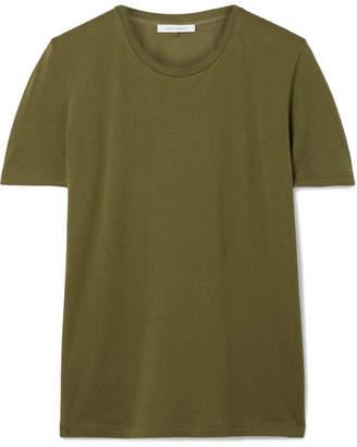 Ninety Percent - Jenna Organic Cotton-jersey T-shirt - Army green