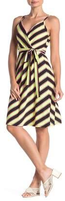 Socialite Jersey Faux Wrap Dress
