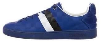 947487dc70f1 Louis Vuitton Damier Striped Sneakers