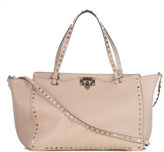 Valentino Embellished Trapeze Tote