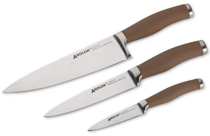 AnolonAnolon SureGrip 3-Pc. Stainless Steel Japanese Cutlery Set