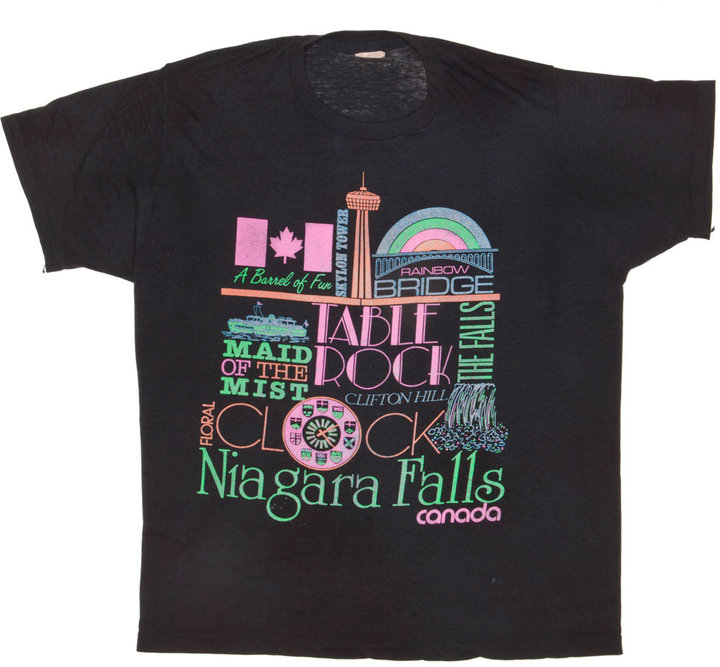 Vintage Niagara Falls Threadbare T-shirt