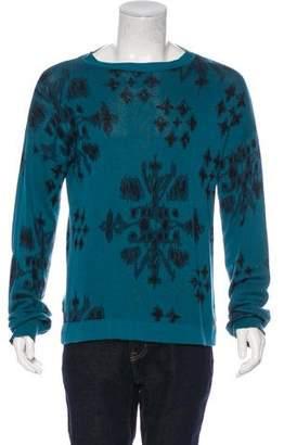 Baja East Intarsia Knit Sweater