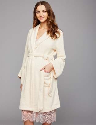 Front Pocket Maternity Robe