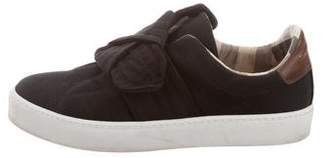 Burberry Canvas Slip-On Sneakers