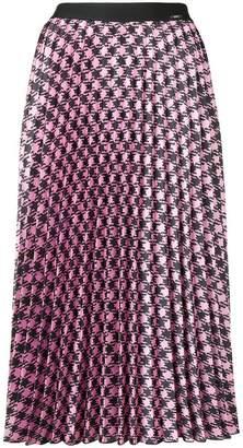 Liu Jo printed pleated skirt