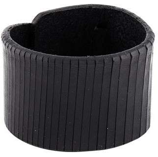 Pre Owned At Therealreal Farah Johnny Leather Cuff Bracelet