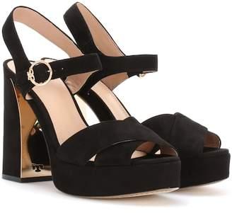 Tory Burch Loretta suede sandals
