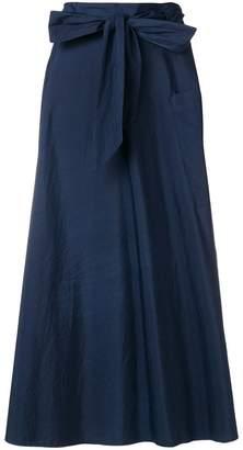Barena belted full skirt