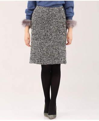 Clear Impression (クリア インプレッション) - CLEAR IMPRESSION ブークレツイードタイトスカート クリアインプレッション スカート