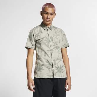 747a10bffa Nike Men's Short-Sleeve Shirt Hurley Asylum Stretch