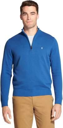 Izod Men's Advantage SportFlex Performance Stretch Fleece Quarter-Zip Pullover
