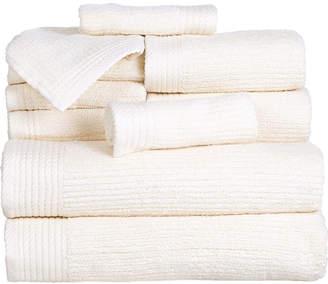Asstd National Brand Cambridge Home Ribbed 10-pc. Egyptian Cotton Bath Towel Set