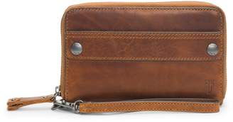 Frye Melissa Large Leather Phone Wallet